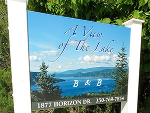 Book one of our 4 West Kelowna area Bed & Breakfast guest rooms today!